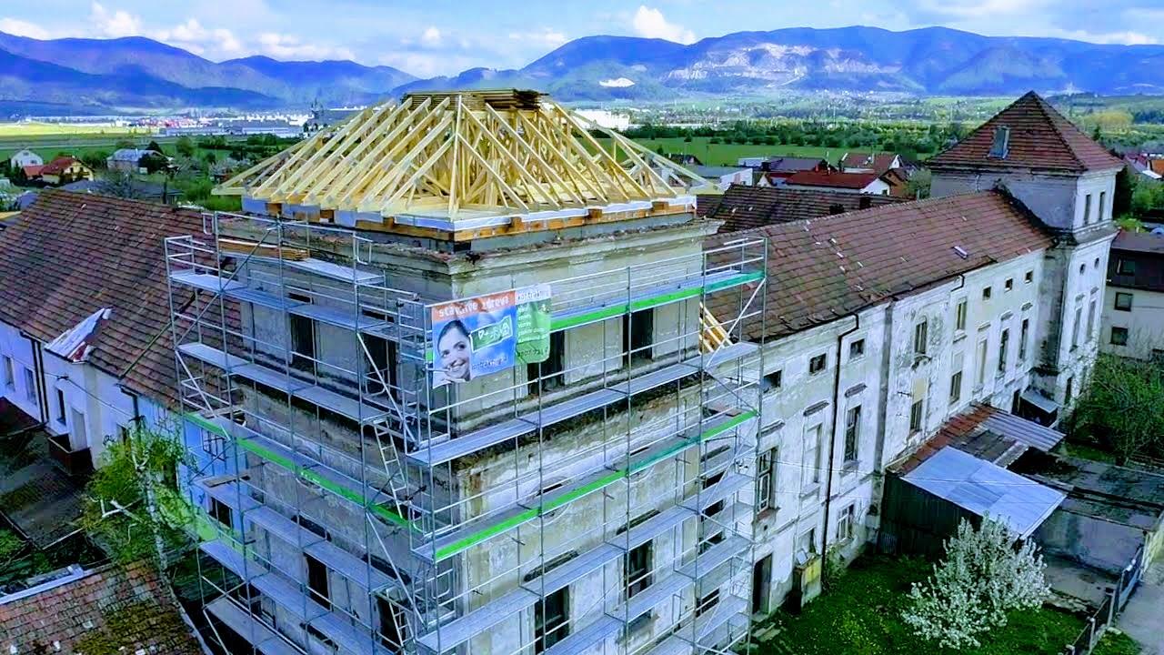 Kaštieľ v Tepličke nad Váhom sa dočka rekonštrukcie