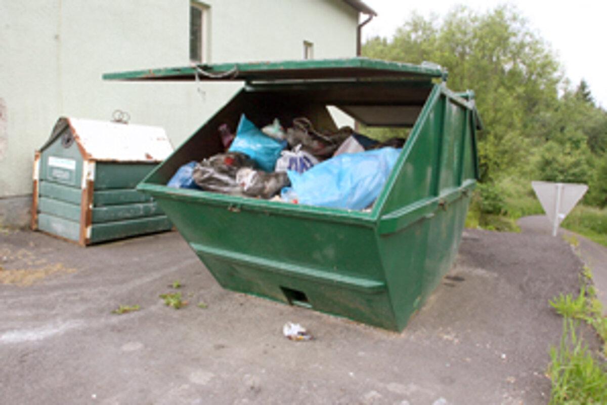 Jarný zber nadrozmerného komunálneho odpadu